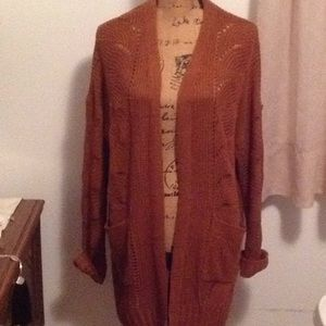 🌰Pink Republic Chestnut Cardigan Sweater